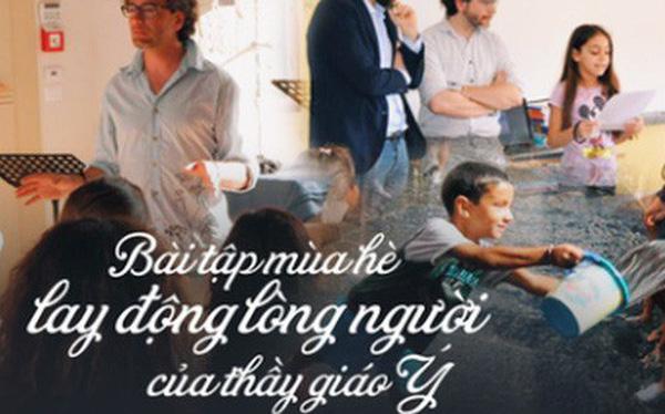 4 năm trước thầy Đỗ Đức Anh, từng có 1 thầy giáo người Ý làm rung chuyển MXH thế giới với 15 bài tập hè độc đáo, phá vỡ truyền thống giáo dục